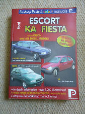 FORD ESCORT KA FIESTA - PETROL & DIESEL 1977 to 2000 - PORTER COLOUR MANUAL