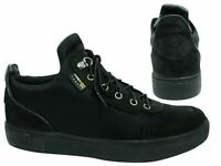 Timberland Amherst High Top Canvas Black Lace Up Mens Chukka Shoes A1OUC B*