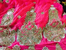 indian outfit saree,sari size Small pink