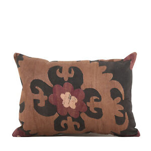 """12.60"""" x 17.72"""" Pillow Cover Suzani Pillow Vintage FAST Shipment With UPS 10146"""