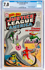 Brave and the Bold #28 CGC 7.0 DC 1960 1st Justice League! Key Silver H12 141 cm