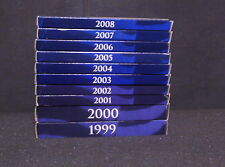 50 STATE QUARTERS 1999-2008 COMPLETE U.S. MINT PROOF SET!!