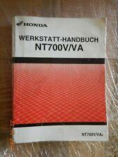 Reparaturanleitung Honda NT700 V/VA Deauville,  Werkstatthandbuch ab Modell 2005