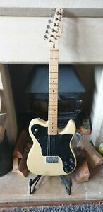 Fender Squier telecaster custom with P90's. Near Mint condition. Butterscotch.