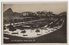 Brazil, Rio De Janeiro, Praca Paris RP Postcard #2, B198