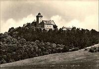Holzhausen Kreis Arnstadt Thüringen DDR Postkarte um 1970 Wachsenburg Burg AK