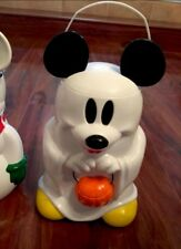 Disney Parks Mickey Mouse Halloween Ghost Limited Collectible Popcorn Holder