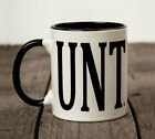 UNT Mug with C handle funny novelty coffee tea cup rude naughty + Free gift box