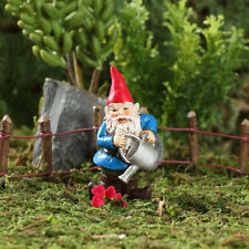 Miniature Dollhouse FAIRY GARDEN - Brolan The Watering Can Gnome - Accessories