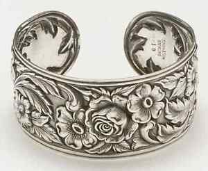 Kirk Stieff Repousse-Full Chased-Hand Chased Bracelet 6592203