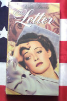 NEW The Letter (VHS, 1940) Bette Davis, MGM Video VCR Cult Classic Film SEALED