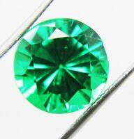 8,80 karat Natürlich Smaragd Panna Rund form 11mm GGL Zertifiziert