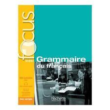 9782011559647 Focus. Grammaire du francais. Con Corriges-Parcour...ole superiori