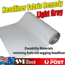 Auto Headliner Fabric Remedy Light Gray Roof Lining Loose Disappear 2.6M x 1.5M