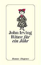 Witwe für ein Jahr. von John Irving --- Diogenes, gebunden, Leinen
