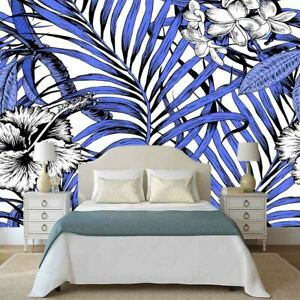 Blue Promotion Empty 3D Full Wall Mural Photo Wallpaper Printing Home Kids Decor