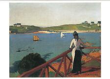 Kunstkarte/ Postcard: Emile Bernard - Après-midi à Saint-Briac