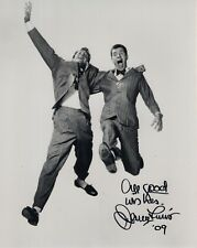 Jerry Lewis autographed 8x10 photo Flying Through Air With Dean Martin