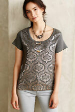 New Anthropologie Drawing Room Pullover by Moth Size XS $98 5 Star Reviews