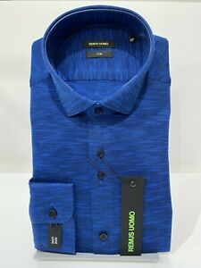 """Remus Uomo Slim fit Long Sleeve Formal Shirt - LIMITED STOCK - 15.5"""""""