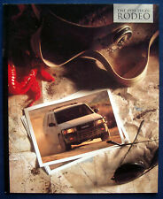 Prospekt brochure 1995 Isuzu Rodeo (USA)