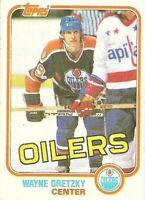1981-82 Topps Hockey Wayne Gretzky Edmonton Oilers Card #16