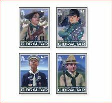 GIB0803 EUROPE 100 years of Scouting 4 pcs.