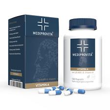 Vitamin A 25000 I.E (7500µg) Extra Hochdosiert 180 Premium Kapseln no Tabletten