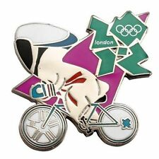 London 2012 Olympics Mascot Track Cycling Pin
