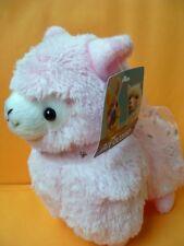 """Japan Amuse Arpakasso Alpacasso Alpaca Pink 7"""" Plush Doll Toy"""