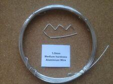 1mm x 15m Aluminium Wire Floristry Craft Jewellery Making Bonsai Training