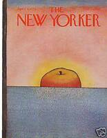 1979 New Yorker April 9 - An Apple a day