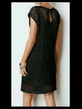 BNWT🌹Next🌹Size 6 - 8 Black Daisy Cut Out Lace Crotchet Shift Dress New XS