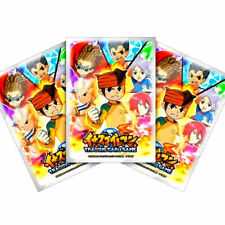 TAKARA TOMY INAZUMA ELEVEN TRADING CARD GAME 42PCS TCG OFFICIAL CARD PROTECT IE
