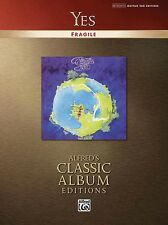 Yes Fragile Sheet Music Guitar Tablature Book NEW 000699871