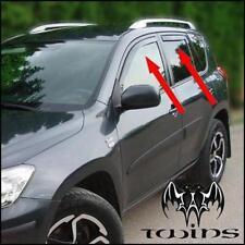 Set 4 Deflettori Aria Antiturbo Oscurati Toyota Rav4 xa30 RAV 4 2006-2012
