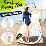 Portable Pop Up Tent Outdoor Camping Toilet Shower Instant Changing + Bag NEW