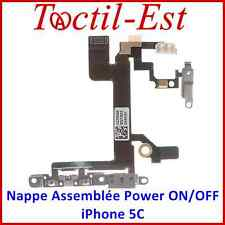 Pour iPhone 5C Nappe Assemblée des Touches Power Volume ON/OFF Support Métal