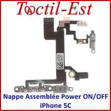 Pour iPhone 5C Nappe Assemblée des Touches Power Volume ON/OFF Support Métal
