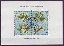 Briefmarken aus Monaco mit Pflanzen-Motiv