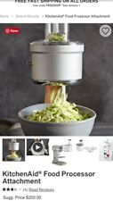 Kitchen-aid mixer food processor attachment