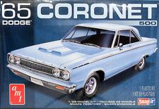 1965 Dodge Coronet 500 SnapIt 1:25 AMT Model Kit Bausatz AMT1176