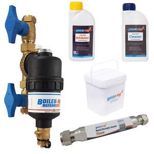 Central Heating System Magnetic Boiler Filter Part L Compliance Pack 28mm