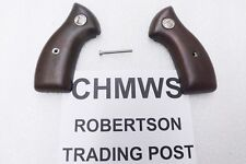 Charter Arms Revolver Grips Small Magna Walnut Factory CHMWS Screw Included