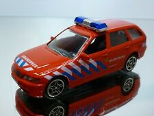 JOY CITY BMW 3 series E46 - BRANDWEER FIRE BRIGADE - RED 1:43 - GOOD CONDITION