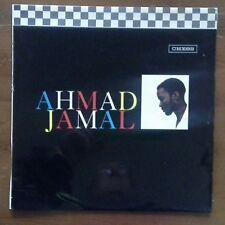 (AHMAD JAMAL-S/T)-jazz pianist, peering over the edge-D7-LP
