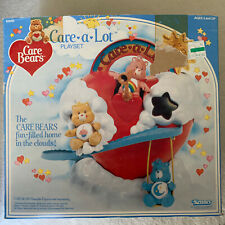 Vintage Care Bears Care A Lot Play Set ( Incomplete) -Kenner 1982,1983