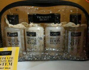 Victoria's Secret Coconut Milk Ultimate Moisture Lotion Bath Scrub Body Oil