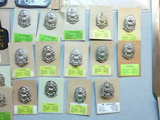 New Old Stock Thirty Five Assorted Scottish Police Badges, Patches, Etc.