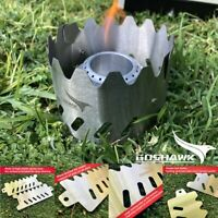 Ultra Light Alcohol Stove Cross Bracket stent stand Hiking Camping Trail 5g//EA